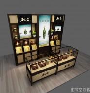 康尔欣石斛零售店专柜设计方案