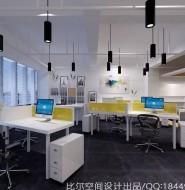 上海华韵科技有限公司办公室装修设计