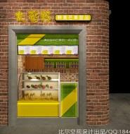 上海田子坊大芒杯芒果甜品店设计