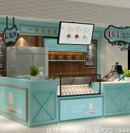 上海金虹桥广场店1946冰淇淋店设计