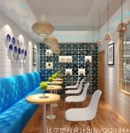上海悦达889中街1946冰淇淋店设计