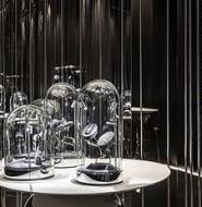 高档设计师珠宝品牌Âme最新纽约旗舰店,继续延续酷炫的单色风格