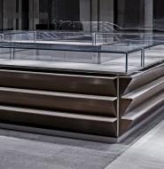 建筑师构想出对20世纪20年代百货商店的现代诠释的,朝外珠宝店设计(Jewellery)