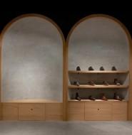 20平的鞋店,引入宗教文化,Faust鞋店设计