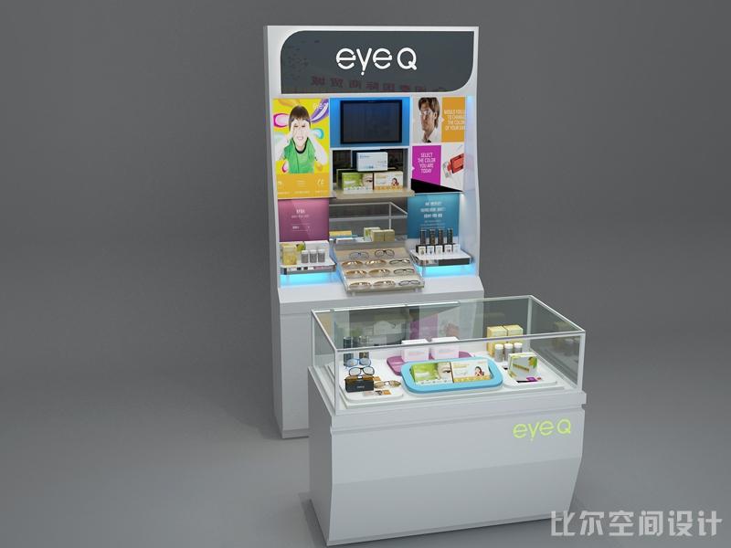 上善医疗EYEQ专柜设计方案1