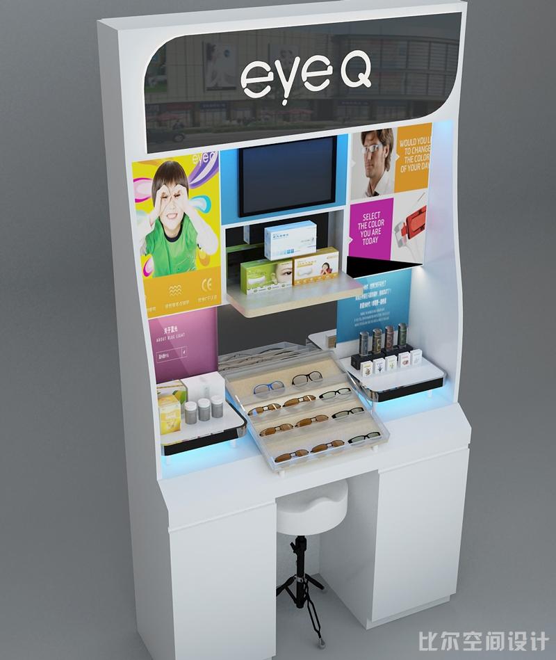 上善医疗EYEQ专柜设计方案2