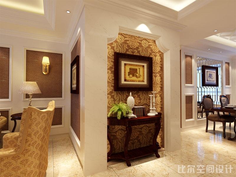 欧式风格三室二厅设计方案3