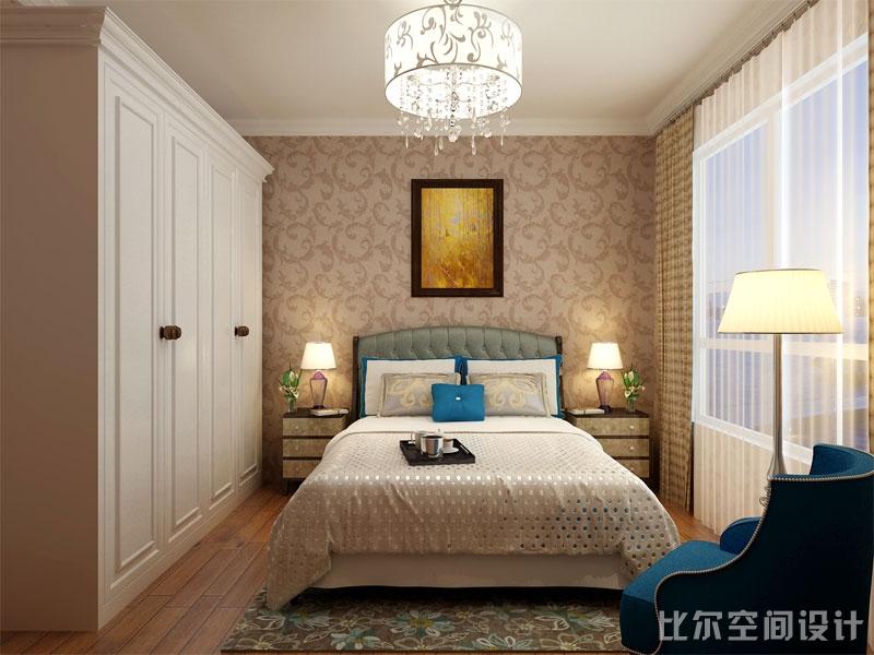 欧式风格三室二厅设计方案7