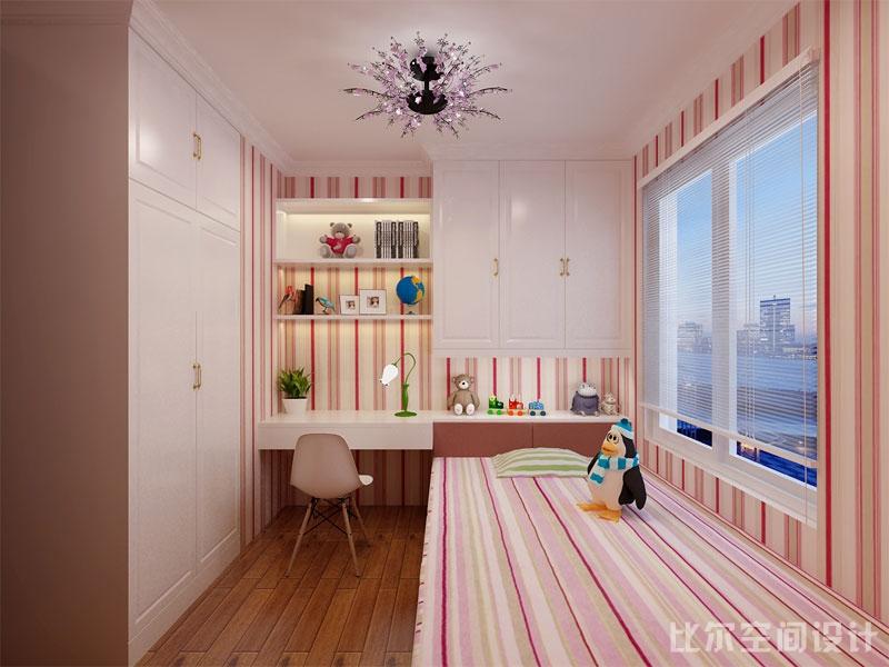 欧式风格三室二厅设计方案8