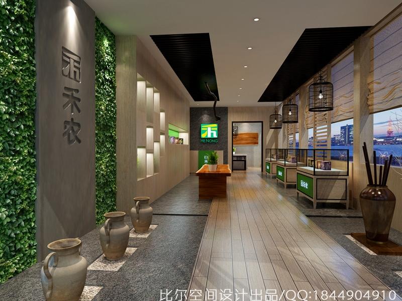 禾农玛咖SI旗舰体验店设计2