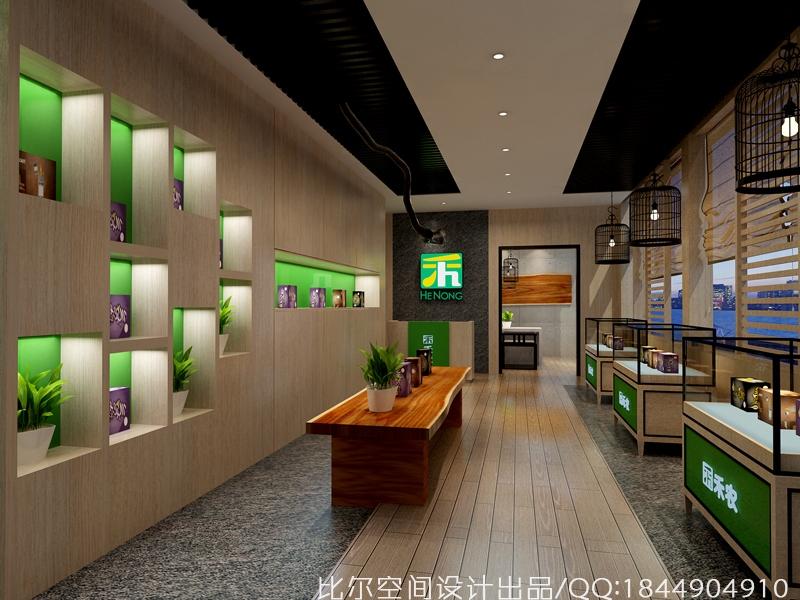 禾农玛咖SI旗舰体验店设计4