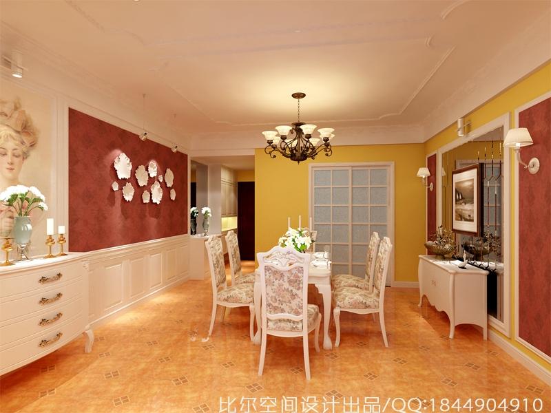 田园风格三室二厅设计方案