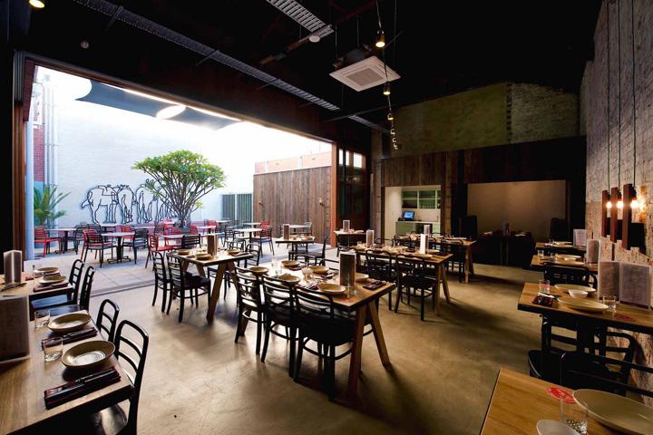 国外餐厅设计欣赏